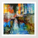 7 th Avenue  Art Print