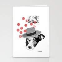 Un chien andalou Stationery Cards
