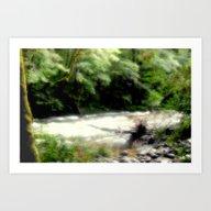 Franklin - Gordon River Art Print