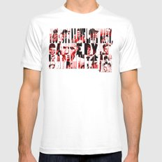 Sinatra Says... Mens Fitted Tee SMALL White