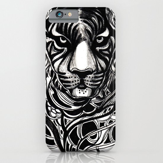Tiger - Original Drawing  iPhone & iPod Case