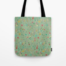 Small Floral  Tote Bag