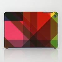 Rainbow Facets iPad Case