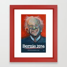 Bernie Sanders Framed Art Print
