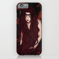 iPhone & iPod Case featuring Keeper of the forest by Kathleen Weird