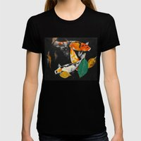 Around And About Womens Fitted Tee Black SMALL