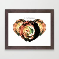 Flowerbombs Framed Art Print