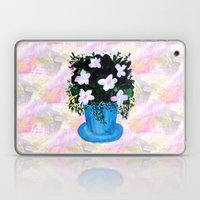 Blue Vase With Foliage A… Laptop & iPad Skin
