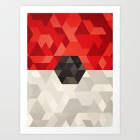 Pokeball Art Print
