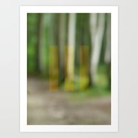 abstract nature dream 2 Art Print