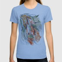 in the waterweeds Womens Fitted Tee Athletic Blue SMALL