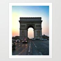 Triomphe Art Print