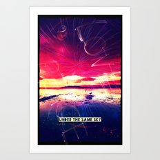 UNDER THE SAME SKY - FOR IPHONE Art Print