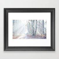 Misty Afternoon Framed Art Print