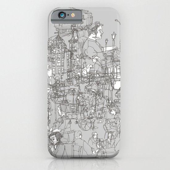 Interlocking Lives, Lines, and Transit Lanes iPhone & iPod Case