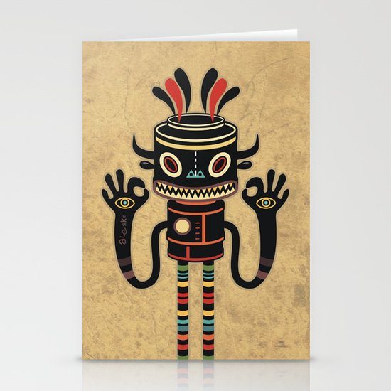 Tribe Gathering Stationery Card