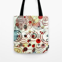 Tote Bag featuring Koi Pond by Tina Carroll