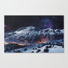 Magical Mountain Canvas Print