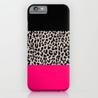iPhone Cases featuring Leopard National Flag IV by M Studio