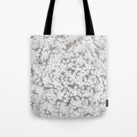 Queen Anne's Lace Flower… Tote Bag