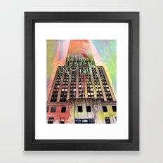Empire State Of Art  Framed Art Print