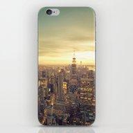 iPhone & iPod Skin featuring New York Skyline Citysca… by Vivienne Gucwa