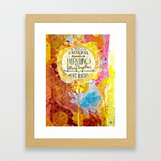 The Whole and All - in an Eggbox full of Colores Framed Art Print