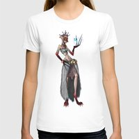 Marinette Yaga Womens Fitted Tee White SMALL