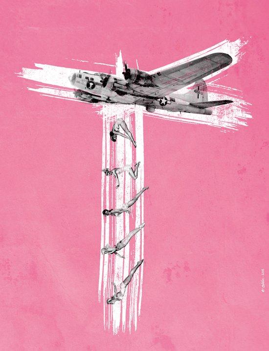 Bombs Away! Art Print