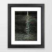 Aqua de la vida Framed Art Print