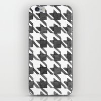 Houndstooth II iPhone & iPod Skin