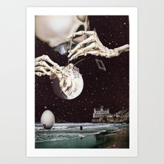 Cosmic Dead Art Print