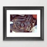 Engine Framed Art Print