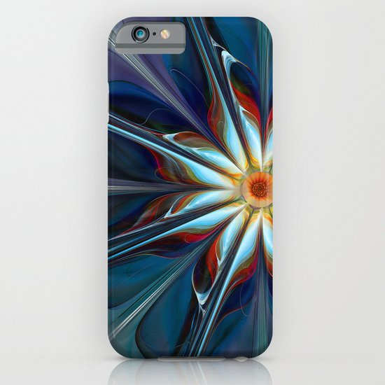 Blue Flower iPhone & iPod Case