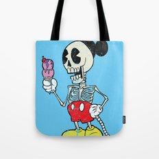 Mickey Bones Tote Bag