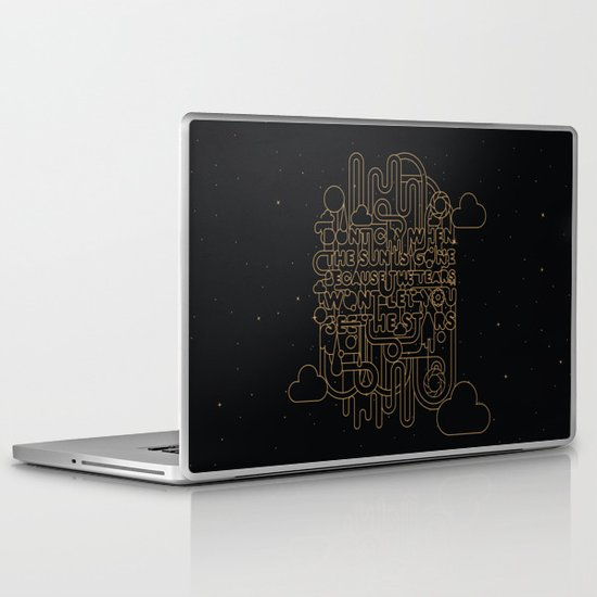 See the Stars Laptop & iPad Skin