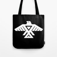 Thunderbird flag - Inverse edition version Tote Bag