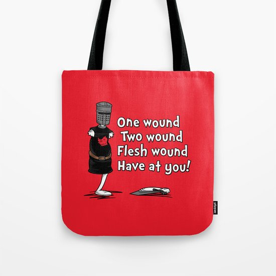 One Wound, Two Wound..... Tote Bag