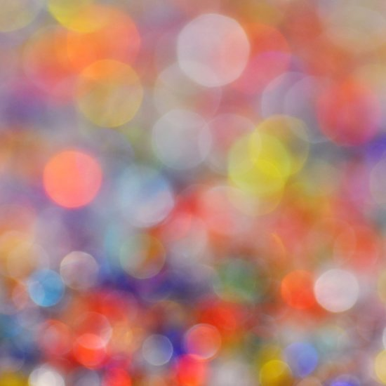 Bokeh Big Top Circus Art Print