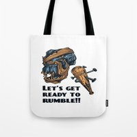 Lets Get Ready To Rumble… Tote Bag