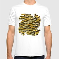 Wild Glitters Mens Fitted Tee White SMALL
