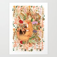 Lost in Nature Art Print