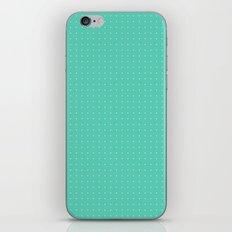 Mint spots pattern iPhone & iPod Skin