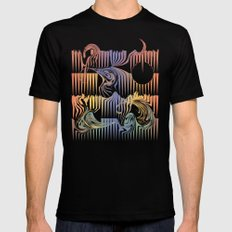 Surf SMALL Mens Fitted Tee Black