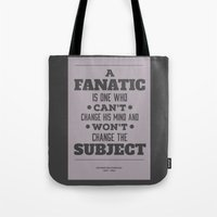 Fanatic Tote Bag