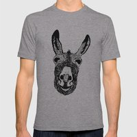 Wonky Donkey  Mens Fitted Tee Athletic Grey SMALL