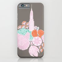 iPhone & iPod Case featuring NYC- Spring by bodkin5