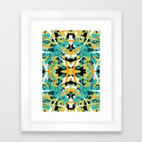 Abstract Symmetry Framed Art Print