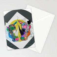 Rhino And RhInO Stationery Cards