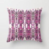 Bianca's Beads Throw Pillow